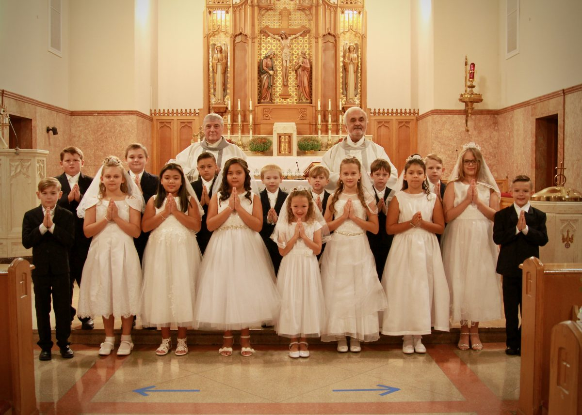 First Holy Communion, Sept 2020